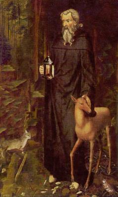 the_hermit -the golden tarot