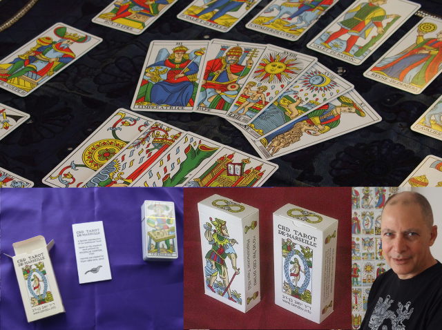 "Order the premium, 78 card ""CBD Tarot de Marseille"" by Dr. Yoav Ben-Dov."