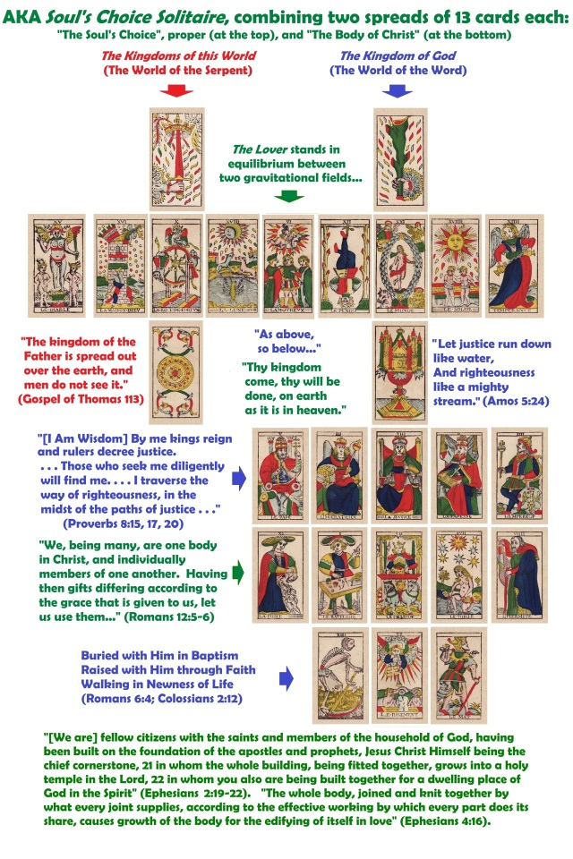 Lovers Solitaire Fully Illustrated Annotated Layout - 2020 Revision 1