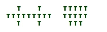 Lovers Tarot Schematic green
